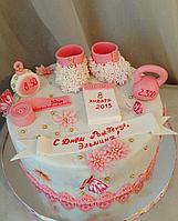 Торт. Праздничный торт. Торт новорожденному