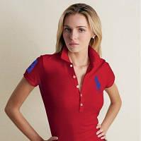 RALPH LAUREN 5 пуговиц женские футболки поло ралф лорен купить в Украине, фото 1