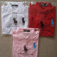 RALPH LAUREN 5 пуговиц женские футболки поло ралф лорен купить в Украине