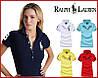 RALPH LAUREN 5 пуговиц женские футболки поло ралф лорен купить в Украине.