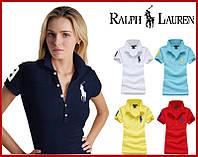 В стиле Ральф лорен поло женская футболка поло ральф лорен, фото 1