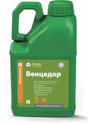Протравитель двухкомпонентный Венцедор  - тебуконазол 25 г/л + тирам 400 г/л, пшеница, кукуруза, овес, лён, фото 2