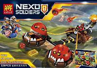 Конструктор Lele серия Nexo Soldiers 79238 Безумная колесница Укротителя (Аналог Lego Nexo Knights 70314)