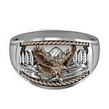 Перстень  женскийсеребряный Горный орел КЦ-31 Б, фото 4