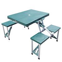 Комплект раскладной мебели туристической (стол +4 стула)