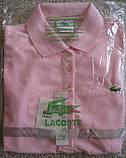 LACOSTE 5 пуговиц женская футболка поло лакоста лакосте лакост, фото 4