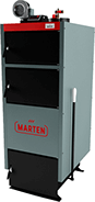 Отопительный котел на твердом топливе длительного горения Marten Comfort MC-20 (Мартен 20 кВт)