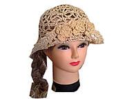 Соломенная шляпа ажур