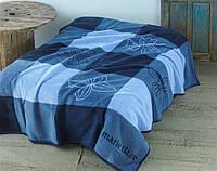 Покрывало Marie Claire Caroline синее 150*200 см.