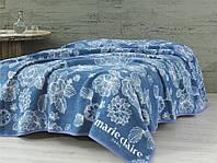 Покрывало Marie Claire Pania синее 200*220 см.