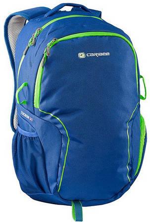 Яркий городской рюкзак 30 л. полиэстер Caribee Tucson 30 Deep Blue, 922344 синий
