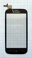 Тачскрин сенсорное стекло для Lenovo A706 black