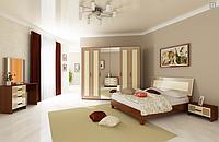 Спальня Виола (ваниль-вишня бюзум) Миромарк