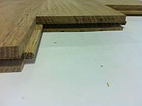 Массивная доска из дуба 400*100*15 мм сорт натур без покрытия
