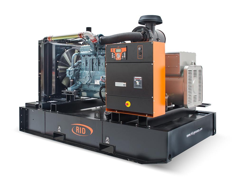 Трьохфазний дизельний генератор RID 300 B-SERIES (240 кВт) відкритий + автозапуск