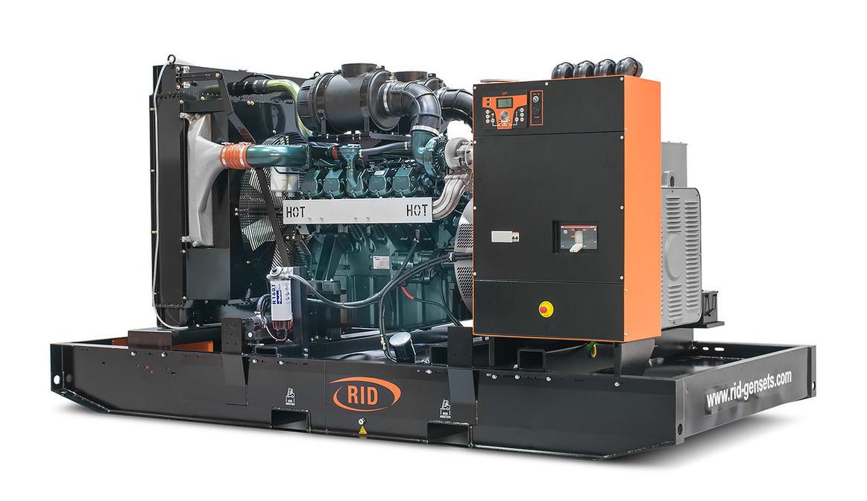 Трьохфазний дизельний генератор RID 650 B-SERIES (520 кВт) відкритий + автозапуск