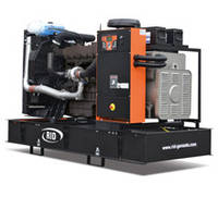 Трехфазный дизельный генератор RID 400 V-SERIES (320 кВт) открытый + автозапуск