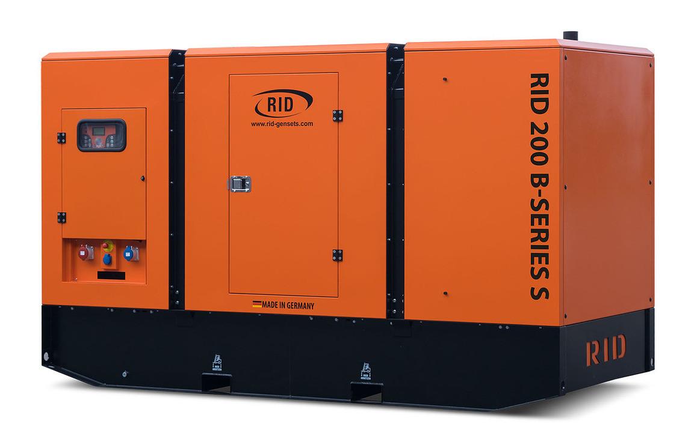Трьохфазний дизельний генератор RID 200 B-SERIES S (160 кВт) в капоті + зимовий пакет + автозапуск