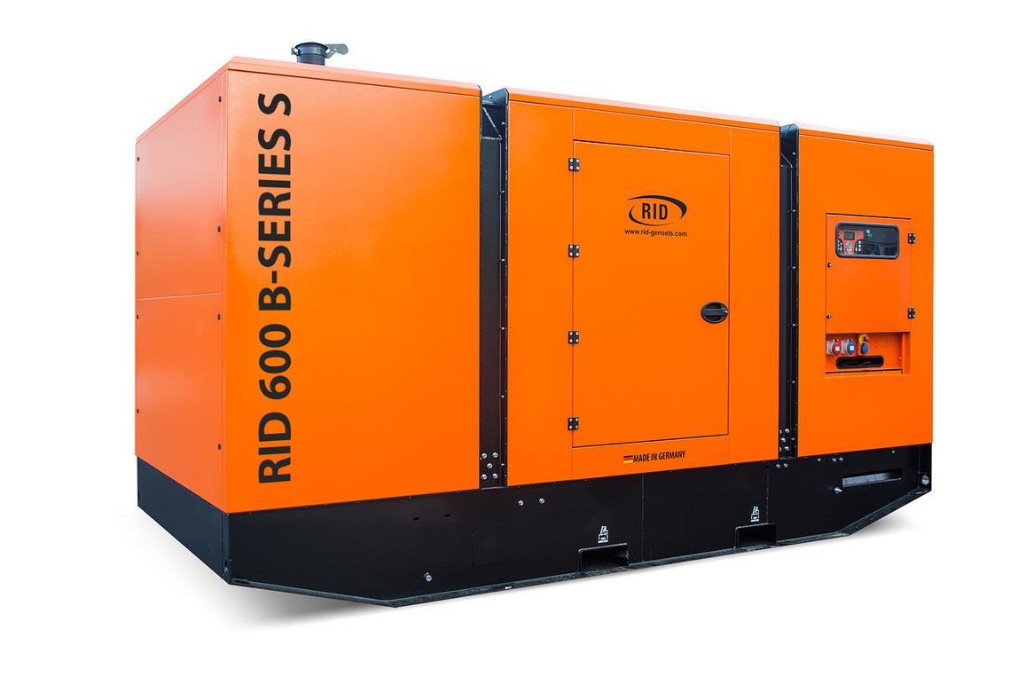 Трьохфазний дизельний генератор RID 600 B-SERIES S (480 кВт) в капоті + зимовий пакет + автозапуск