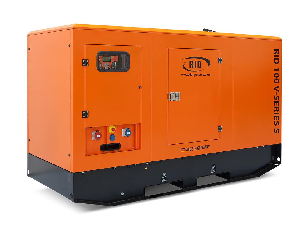 Трьохфазний дизельний генератор RID 100 V-SERIES S (80 кВт) в капоті + зимовий пакет + автозапуск