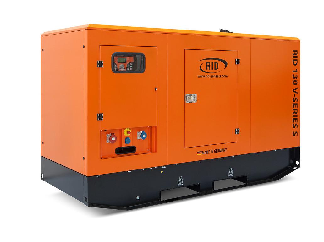 Трьохфазний дизельний генератор RID 130 V-SERIES S (104 кВт) в капоті + зимовий пакет + автозапуск