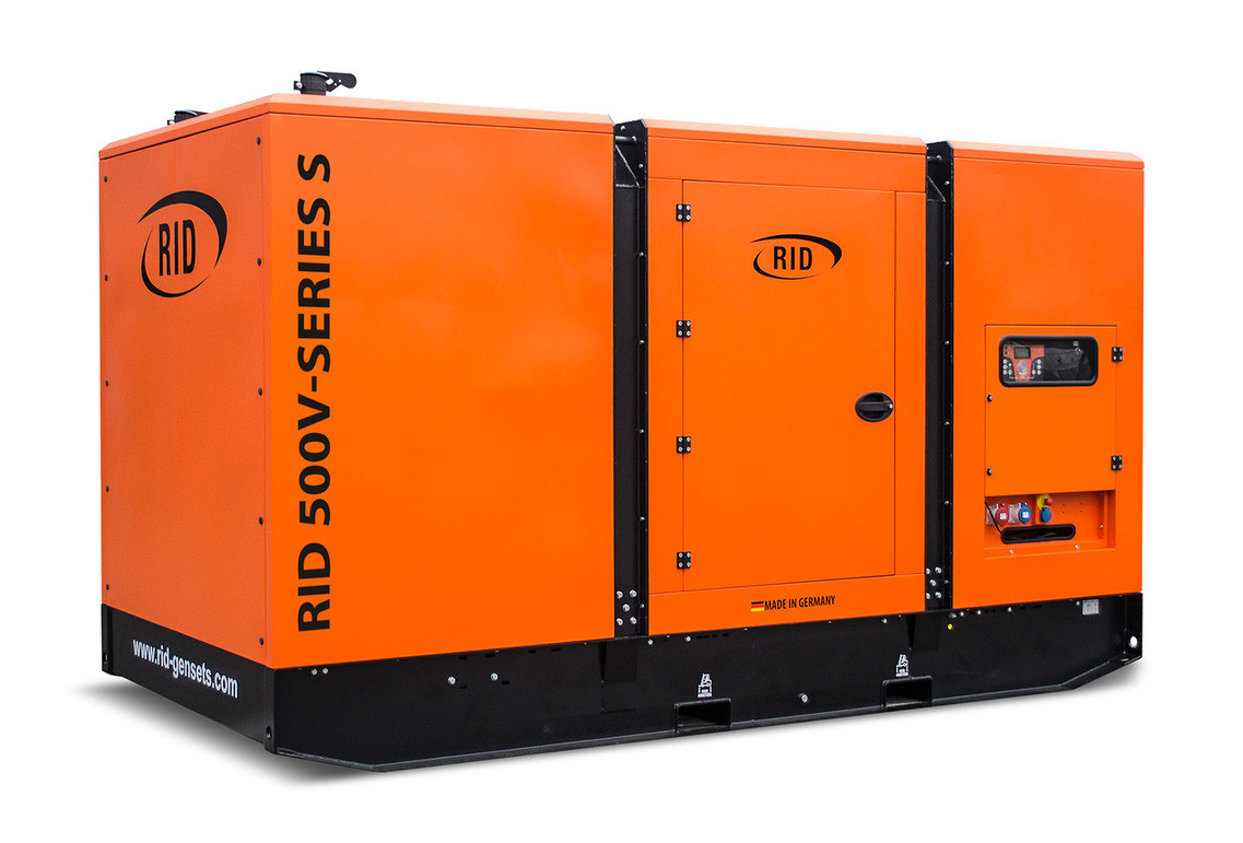 Трьохфазний дизельний генератор RID 500 V-SERIES S (400 кВт) в капоті + зимовий пакет + автозапуск
