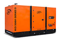 Трехфазный дизельный генератор RID 500 V-SERIES S (400 кВт) в капоте  + зимний пакет + автозапуск