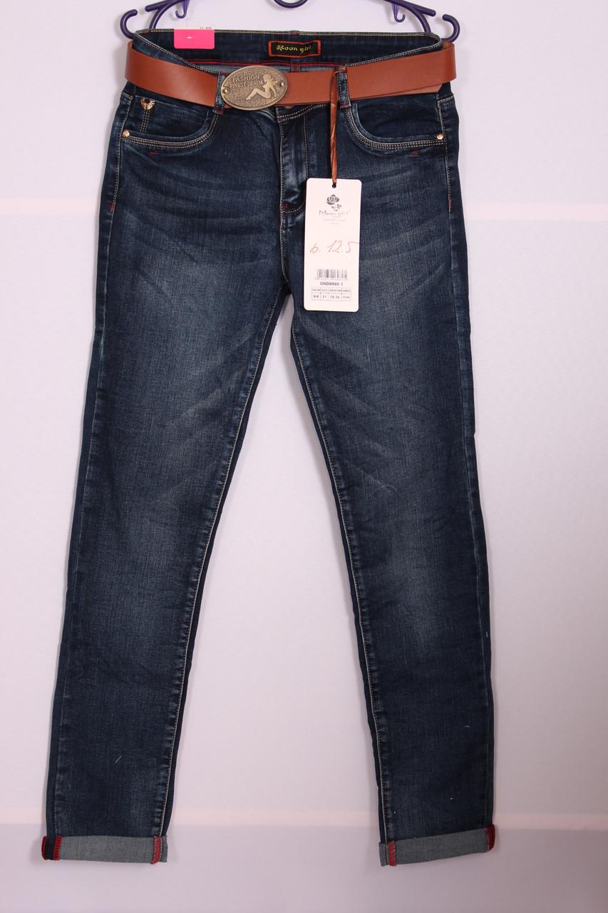Женские джинсы Moon Girl больших размеров29-36р. (Код: 6960)