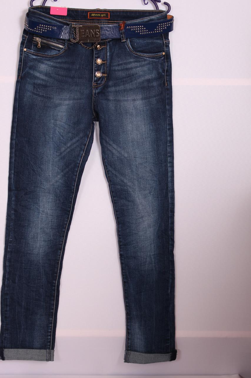 Женские джинсы Moon Girl больших размеров (Код: 6966)