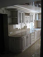 Кухня дерев'яна (дуб, ясен) на замовлення Кухні ціна в Києві.