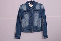 Женский джинсовый пиджак Ice D Blue (Код: 6823)