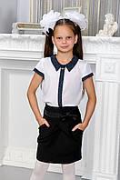 Блузка школьная на девочку, фото 1