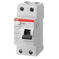 Устройство защитного отключения (УЗО) ABB FH202 AC-25А / 30мА
