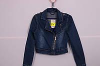 Женский джинсовый пиджак Ice D Blue (Код: 1207)