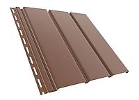 Панель соффит ( коричневая)