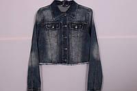 Женский джинсовый пиджак Moon Girl (Код: 6728)размер M
