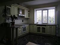 Кухня деревянная (дуб, ясень) под заказ, фото 1