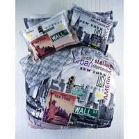 Постельное белье Karaca Home City - Metropolis стеганное евро