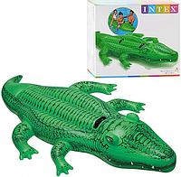 Плотик крокодил intex 58562 (203-114 см)