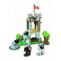 Конструктор Замок рыцаря 90 деталей Unico Plus 8574-0000