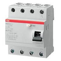 Устройство защитного отключения (УЗО) ABB FH204 AC-63А / 30мА