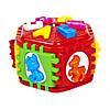 Сортер-шестигранник с буквами и животными Kinder Way 50-003