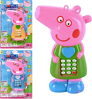 Игрушка Мобильный телефон JS 5619-33 A Peppa Pig