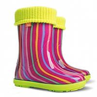 Гумові чобітки (резиновые сапоги) Demar Веселка