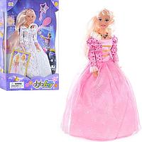 Кукла DEFA 20961 (24шт) муз, свет, 2 вида, в кор-ке, 33-22-5,5см