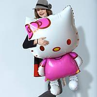 Большой воздушный шар Hello Kitty 80 х 48 cм, фото 1