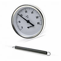 Термометр WATTS 120С накладной,Германия