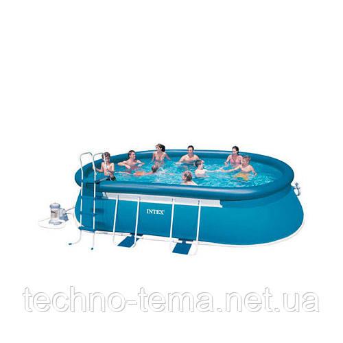 Каркасно-надувной бассейн Intex 549х305х107 см (26192
