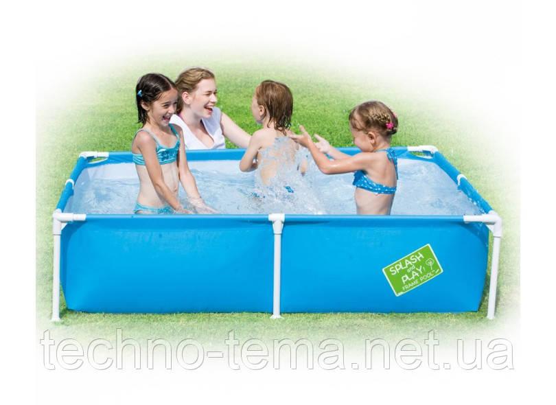 Детский каркасный бассейн 162х162х35 см  (56218)