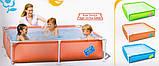 Детский каркасный бассейн 162х162х35 см  (56218), фото 2